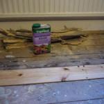 Floor repaired
