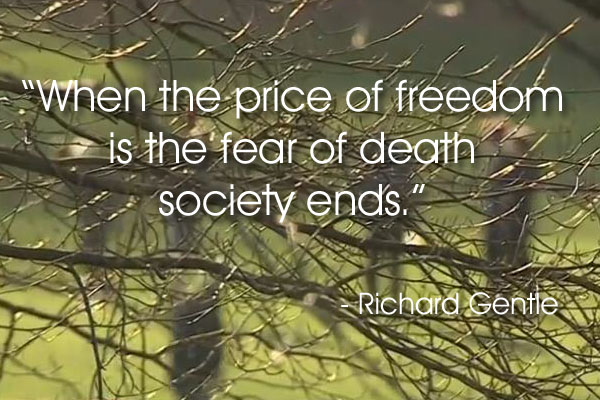 Freedom quote by R Gentle
